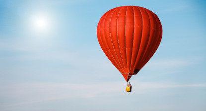 Vol en montgolfière près de Saumur