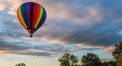 Vol privatif en montgolfière près de Loches