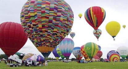 Vol en montgolfière près de Valenciennes