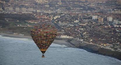 Vol en Montgolfière au dessus de la Manche