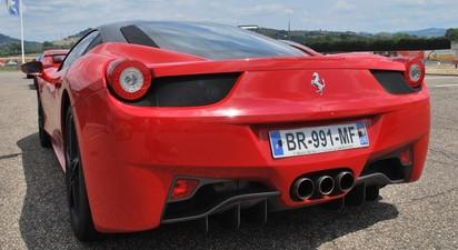 Pilotage en Ferrari F458 - Circuit de Dijon Presnois