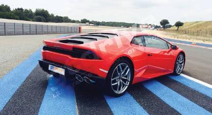Stage de Pilotage en Lamborghini Huracan - Pôle Mécanique d'Alès