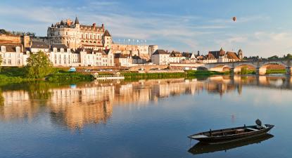 Vol en montgolfière près de Chaumont sur Loire
