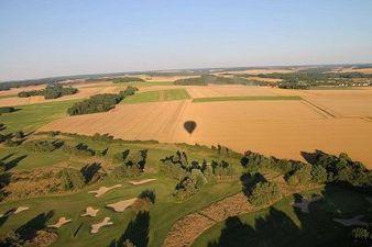 Vol en montgolfière à Moret sur Loing - Survol de la région de Fontainebleau