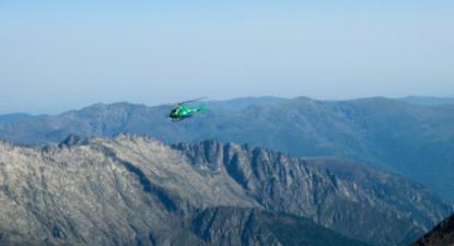 Baptême hélicoptère à Saint Girons - Vol au dessus des Pyrénées