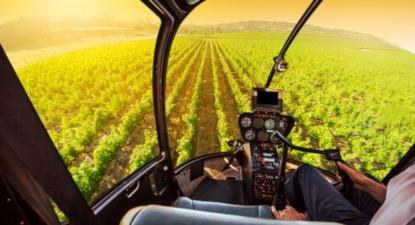 Baptême en hélicoptère à Bordeaux - Survol des vignobles Bordelais ou Arcachon