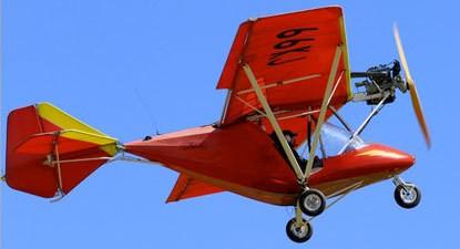 Pilotage d'un ULM près de Perpignan