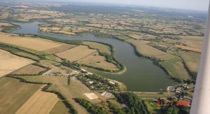 Baptême en ULM près de Nevers