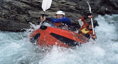 Canoë Raft à Saint-Lary-Soulan près de Tarbes
