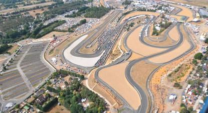 Baptême en hélicoptère dans la Sarthe : Survol du circuit des 24h Mans