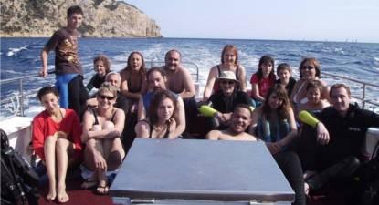 Baptême de plongée à Saint-Cyr-sur-mer