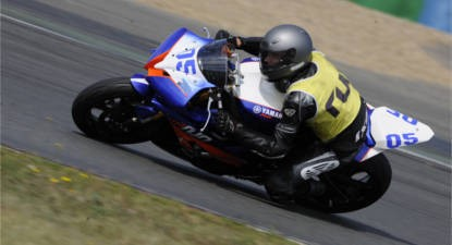 Stage de Pilotage en Yamaha YZF R6 Super Sport - Circuit de Bresse