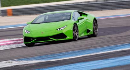 Stage de pilotage en Lamborghini Huracan LP610 - Circuit Mireval