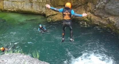 Canyoning à près de Saint Lary Soulan
