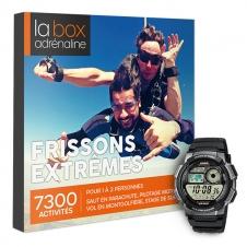 La Box Adrénaline Frissons extrêmes et montre Casio