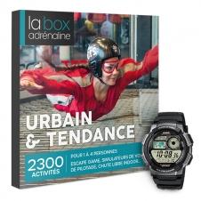 La Box Adrénaline Urbain & Tendance et montre Casio