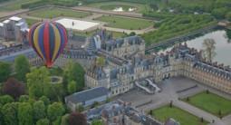 Vol en Montgolfière - tour au dessus du Château de Fontainebleau