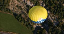 Vol en Montgolfière - survol des Hautes-Alpes près de Gap et Tallard