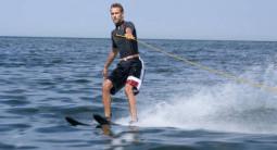Initiation au Ski nautique et balade en Kayak près de Nice