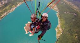 Vol en parapente - Lac d'Annecy