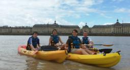 Descente de la Garonne en Canoë à Bordeaux
