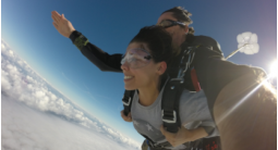 Saut en Parachute Tandem à Sarlat en Dordogne
