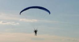 Pilotage d'un ULM près de Castres