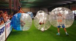 Partie de Bubble Bump à Lyon