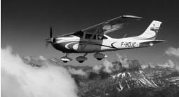 Baptême de l'Air en Avion depuis Annecy et vol au dessus du Lac Leman