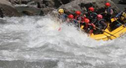 Rafting à Castellane