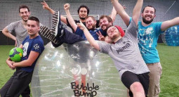 Partie de Bubble Bump à Caen