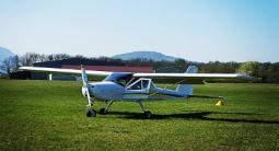 Initiation au pilotage d'avion à proximité du Mont Blanc