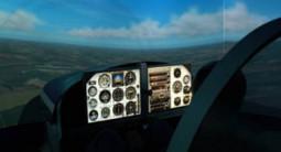 Simulateur de vol en avion au Mans