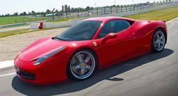 Pilotage d'une Ferrari F458 Italia - Circuit de Saint-Laurent-de-Mure