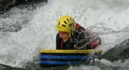 Descente en Hydrospeed au Pont des Grottes