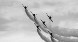 Vol en formation et voltige sur avion de chasse avec minimum 5 jets à Dijon