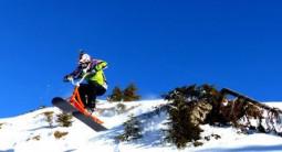 Initiation au Snowcoot à Val-Cénis