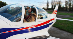 Initiation au pilotage d'avion léger à Versailles