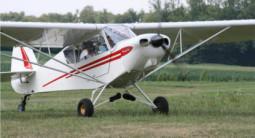 Baptême de l'air en avion léger à Colmar
