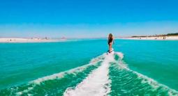 Balade en Surf électrique sur côte méditerranéenne depuis Fréjus