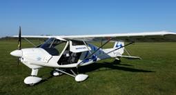 Vol sur 2 ULM au-dessus de Saint Emilion