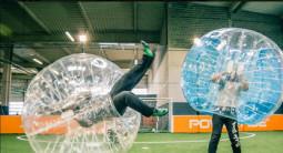 Partie de bubble bump à Vannes
