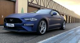 Baptême ou conduite sur route en Ford Mustang Cabriolet près de Colmar