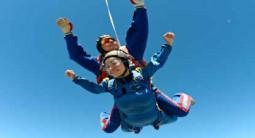 Saut en Parachute Tandem vers le Mont Saint-Michel