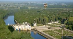 Vol en montgolfière - balade au dessus du Château de Chenonceau