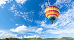 Vol en montgolfière près de Lyon - Survol du Parc Naturel Livradois Forez