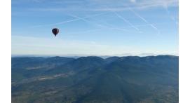 Vol en Montgolfière au dessus de Vézelay dans l'Yonne