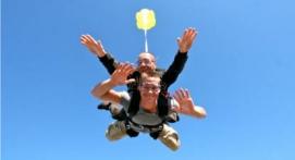 Saut en Parachute Tandem près de Valence