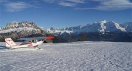 Vol découverte en ULM au Mont Blanc