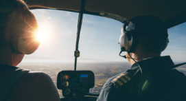 Baptême en hélicoptère à Niort - Survolez les abords du Marais Poitevin